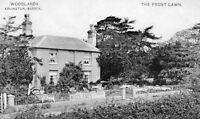 Woodlands (Tea Gardens) The Front Lawn - Arlington - Sussex 1910 Postcard (104)