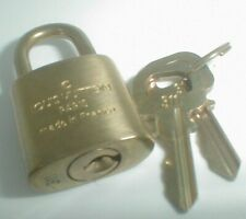 LOUIS VUITTON BRASS #311 PARIS LOCK & KEY ( 2 KEYS ) (GENTLY USED) AUTHENTIC