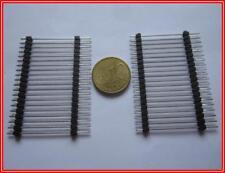 1x20Pin Stiftleiste 1Reihig Sandwich ra.2,54mm 250VAC 3A ca.50x38mm 2 Stück