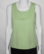 NEW Linea by Louis Dell'Olio Size SMALL GREEN Sleeveless Solid Tank