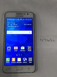 Samsung Galaxy Grand Prime - SM-G530AZ - 8GB - White (Cricket) (4762c)