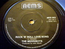 """Il merriboys-ROCK 'N' ROLL LOVE SONG 7"""" in vinile"""