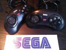 X 1 oficial Sega Mega Drive 6 Botón Controlador Pad X 1