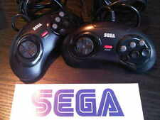 x 1 Official SEGA MEGA DRIVE 6 Button Controller Pad x 1
