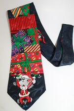 Christmas Mouse Tie Surrey brand polyester Cute