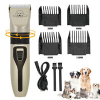 Pet Dog Hair Shaver Clippers Electric Cordless Dog Cat Grooming Trimming Scissor