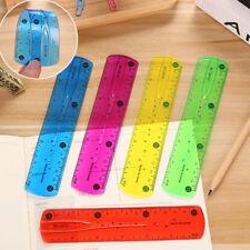 Soft Ruler Flexible Ruler Tape Measure 15cm Straight Ruler Office School Sup BB