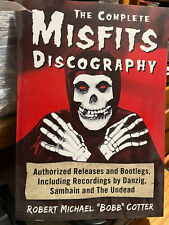 Complete Misfits discography book Danzig Samhain Undead Brand New 1st edition
