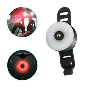 LED Bike Rear Tail Light USB Rechargeable Bicycle Cycling Waterproof Sports Lamp