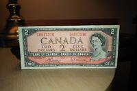 1954 $2 Dollar Bank of Canada Banknote FG0917346