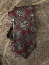 Christopher Hayes SILK Tie Necktie paisley