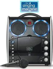 Singing Machine SML-383 Portable CDG Player Karaoke Machine, Black .