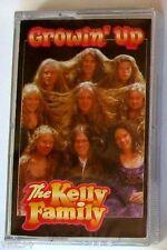 THE KELLY FAMILY - GROWIN' UP - Musicassetta Cassette Tape MC K7 - Sealed