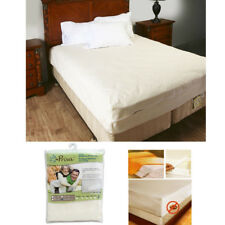 King Size Vinyl Zippered Mattress Cover Protector Dust Bug Allergy Waterproof !