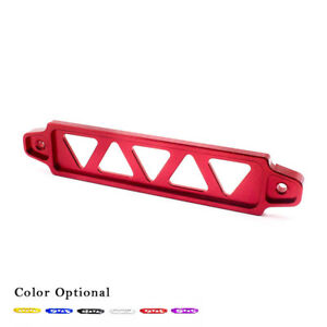 Battery Tie Down FIT FOR Honda Civic EG Billet 5 Holes 220mm Aluminum Red