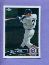 2011 Topps Chrome #80 Joe Mauer Twins NM/MT