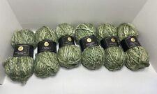Elite Lana Lot of 6 Skeins – 100% Wool - Green