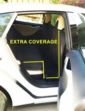 Extra Large Heavy Duty Pet Dog Car Seat Cover Waterproof Back Seat Black