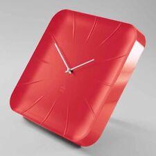Sigel Design Quarz Wanduhr Inu artetempus WU142 Uhr Bürouhr Quarzuhr rot