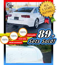 CARKING 2012+ PAINTED AUDI A6 C7 4D Delicate SK Design REAR TRUNK BOOT SPOILER