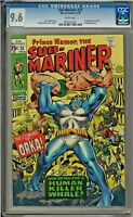 Sub-Mariner #23 CGC 9.6 WHITE PAGES 1st app of Orka Krang App