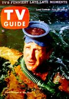 TV Guide 1959 Sea Hunt Lloyd Bridges Ed Sullivan Bat Masterson #326 EX/NM COA