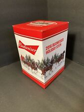 NEW! 2016 Budweiser Limited Edition Holiday SteinClydesdales w/COA NIB