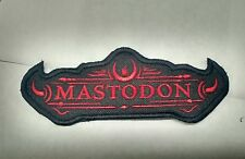 MASTODON Patch Iron/Sew-on Embroidered ISIS Converge High on Fire USA Seller