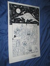 GREEN LANTERN #32 Original Art Page #3 ~Billy Tan/Rob Hunter JLA/MOVIE Justice Comic Art