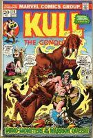 Kull The Conquerer #10-1973 fn 6.0 John Severine / Marie Severin