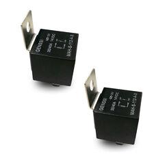 12 Volt 4 Pin Spdt Automotive Relay 30A/40A No 12V 40-Amp (2 Pack)