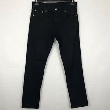 "LEVI'S Strauss & Co 511 Black Jeans W30"" L30"" Men's Zip Fly Pant Straight Leg"