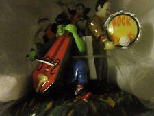 Department 56 Halloween Monsters Rock Band - Retired - Nib