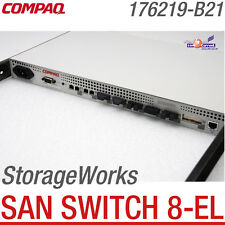 COMPAQ STORAGEWORKS SAN SWITCH 8-EL 176219-B21 177615-001 8-PORT FIBRE CHANNEL
