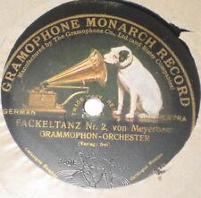 78rpm/Monarch Gramophone 040629/MEYERBEER/FACKELTANZ 1+2