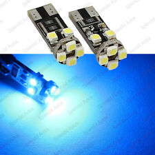 Ultra Blue T10 Error Free BMW Angel Eyes LED Light Bulbs E60 Pre-LCI (2 Pieces)