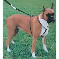 "COASTAL TRAINING NO PULL HOLT CONTROL HARNESS BLACK LARGE 26"" FREE SHIP IN USA"