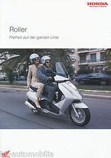 Prospekt Honda Roller 3/03 brochure Silver Wing FES 125 Pantheon Dylan Lead 2003