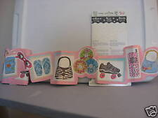 Blonder Home Accents Oh Baby! So Girly Die Cut Pink Border Diary Purse CDs 5 Yd