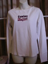 New Roper Cowboy Magnet Long Sleeve Shirt  L