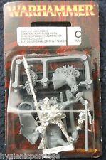 1997 Elfo Oscuro Rider 4 caballería Corcel Ciudadela De Los Elfos ejército Drow Warhammer montado Gw