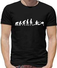 Evolution Of Man Rowing Machine - Mens T-Shirt - Rower - Row - Boat - Rower