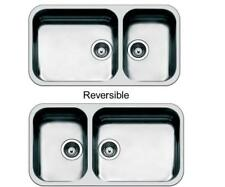 Smeg Alba 2.0 Double Bowl Undermount Sink Stainless Steel UM4530
