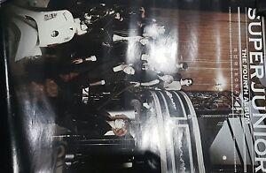 "KPOP Poster - Super Junior - The Fourth Album Poster - 24"" x 36"" - New"
