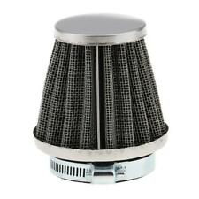 44mm Motorcycles Cone Air Filter Intake Cleaner With Fixing Clip Durable