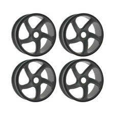 OFNA Gray 5-Spoke 1/8 Buggy Wheels (4): HoBao 87095G