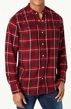 New INC International Concepts Band Collar Star Studded Windowpane Shirt 3XL