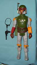 "vintage Star Wars large-size (12"") BOBA FETT WITH CAPE, GUN, and BELT"