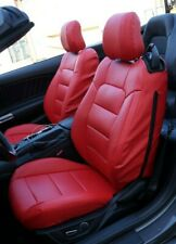 FORD MUSTANG 2015-2020 IGGEE S.LEATHER CUSTOM MADE FIT SEAT COVERS 13 COLORS