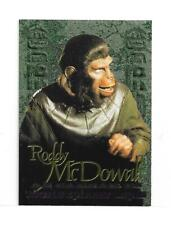 Planet of The Apes Archives 1999 Roddy McDowall Revealed Foil Card R4